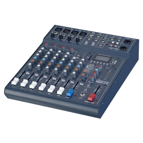 Studiomaster Club XS 8 Compact Analog Mixer with Bluetooth inc FX - CLUBXS8 -New
